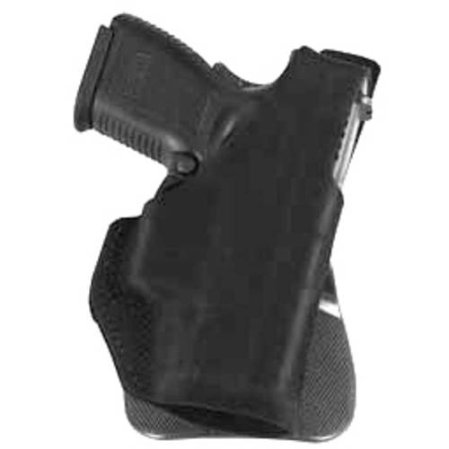 "Galco Paddle Lite Holster, Fits 1911 with 3"" Barrel, Right Hand, Black Leather by Galco"
