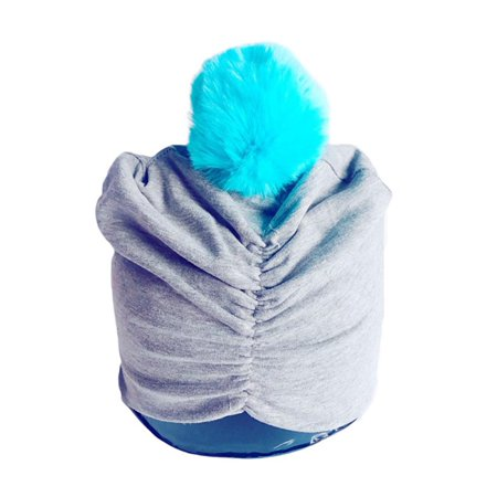 Babula - Babula Baby Cotton Indian Crochet Knit Hairball Beanie Cap -  Walmart.com 58c5e753826
