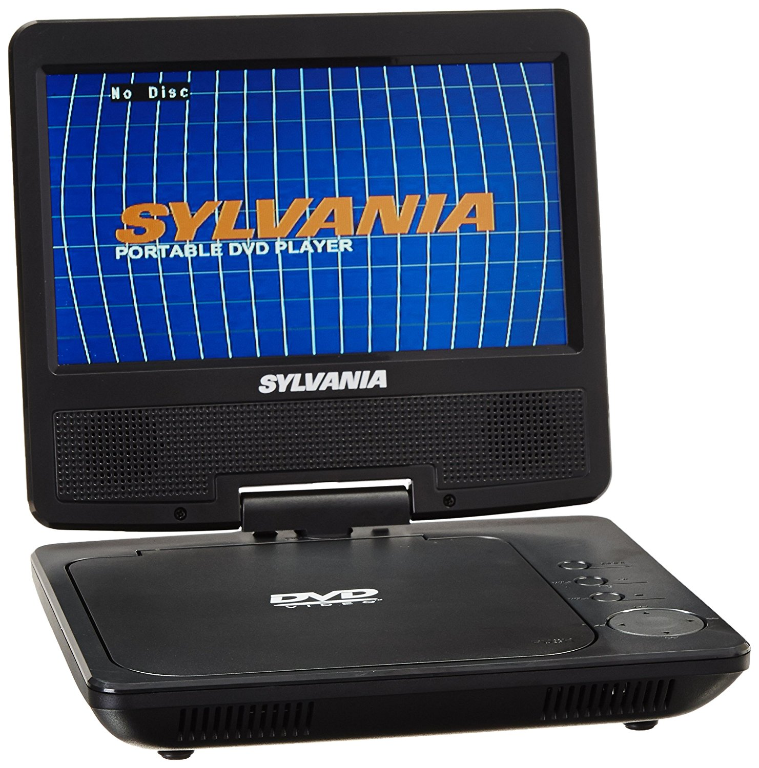 Sylvania SDVD7040B_RB 7 Swivel Screen Portable DVD Player Manufacturer Refurbished