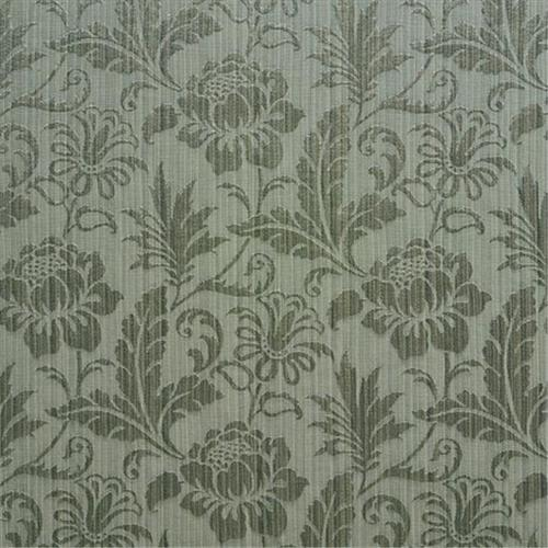 Designer Fabrics K0100G 54 inch Wide Teal Two Toned Floral Metallic Sheen Upholstery Fabric