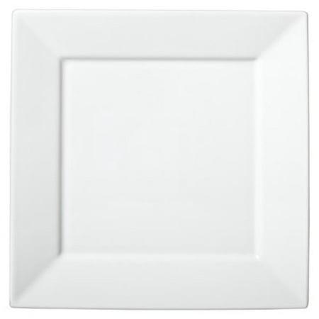CPC B4SQ Disposable 4.5 in. Mini Square White Heavy Plastic Plates, Case of 240 - 6 Case of 40 - image 1 de 1