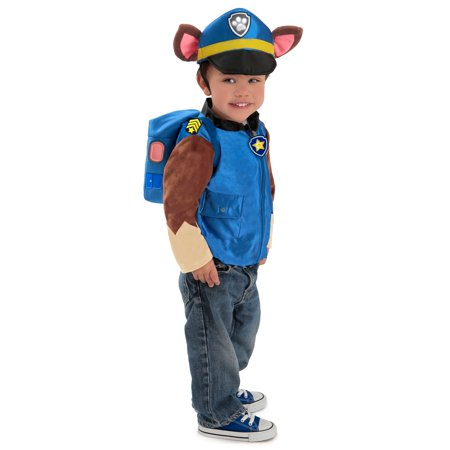 Paw Patrol™ Chase Halloween Costume](Rescue Bots Chase Costume)