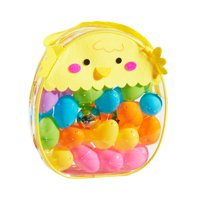 Way To Celebrate Multicolored Easter Eggs, 40 Count