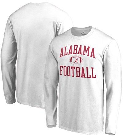d35b4bc9867 Alabama Crimson Tide Fanatics Branded Neutral Zone Long Sleeve T-Shirt -  White - Walmart.com