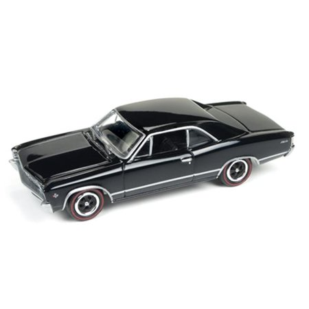 1967 Chevrolet Chevelle Gloss Black, Muscle Cars 0.015 in. Diecast Model