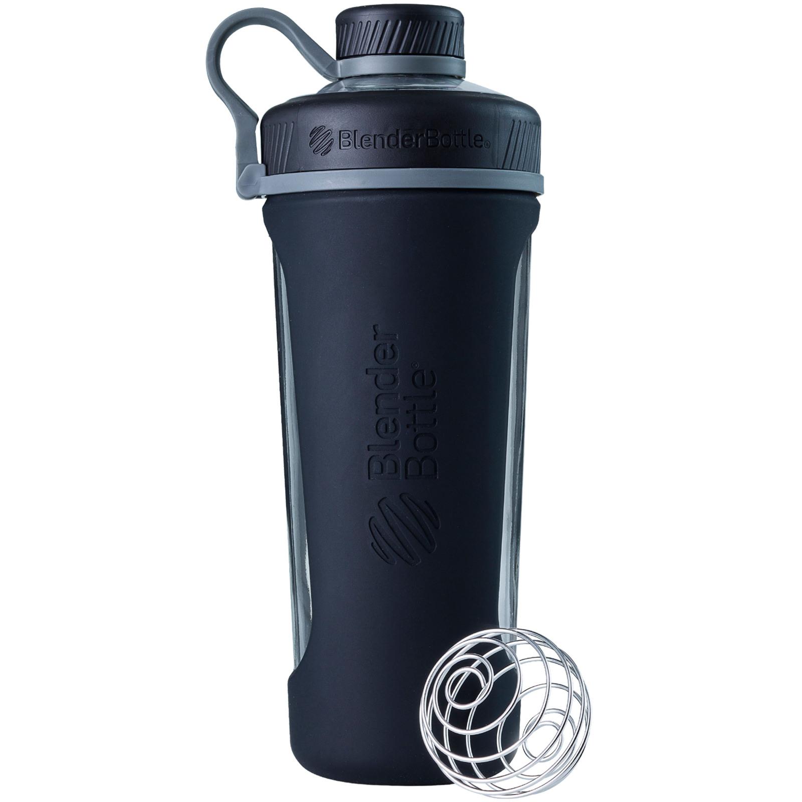 BlenderBottle 28oz Radian Glass Shaker Cup Black