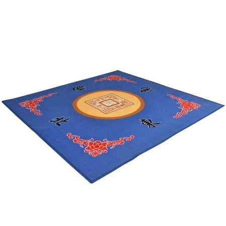 Universal Mahjong / Paigow / Card / Game Table Cover - Blue Mat 31.5