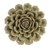 Awesome Magdalyn Green Ceramic Wall Flower