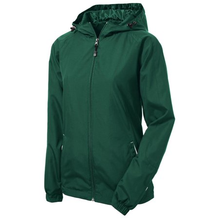Sport-Tek Women's Colorblock Hooded Shell (Alo Womens Shell)