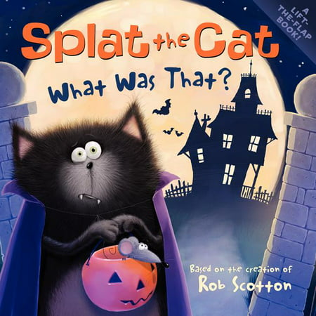 Cat Face Halloween Tutorial (Splat the Cat: Splat the Cat: What Was That?)