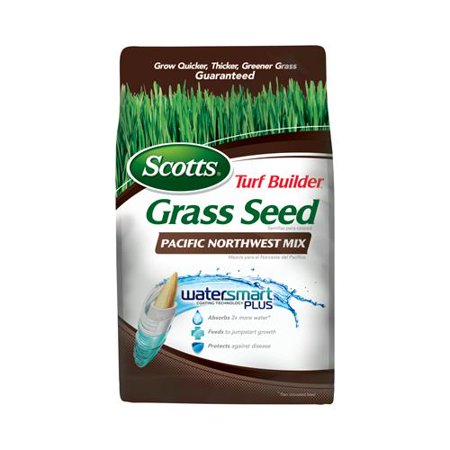 Scotts Lawns 18246 Turf Builder Pacific Northwest Grass Seed Mix, (Best Lawn Seed For Pacific Northwest)