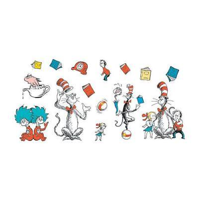 IN-64/9420 Dr. Seuss Characters Jumbo Bulletin Board Cutouts 1 Set(s) - Seuss Characters