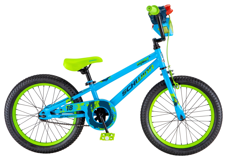 "Schwinn Squirt Sidewalk Bike, 18"" wheels, blue   green by Pacific Cycle"