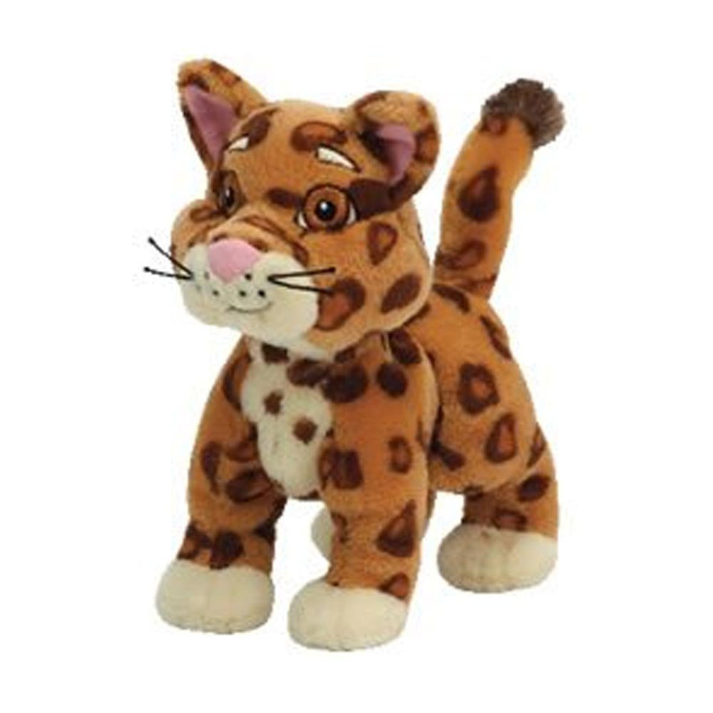 Cp New Ty Beanie Babies Baby Jaguar , Go Diego Go Dora the Explorer Plush Stuffed Animal... by