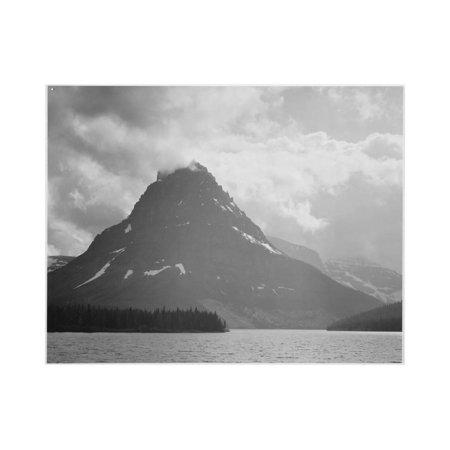 Two Medicine Lake Glacier National Park Montana 1933-1942 Print Wall Art By Ansel Adams