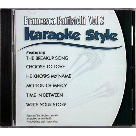 Top New Halloween Songs (Francesca Battistelli Volume 2 Christian Karaoke Style NEW CD+G Daywind 6)