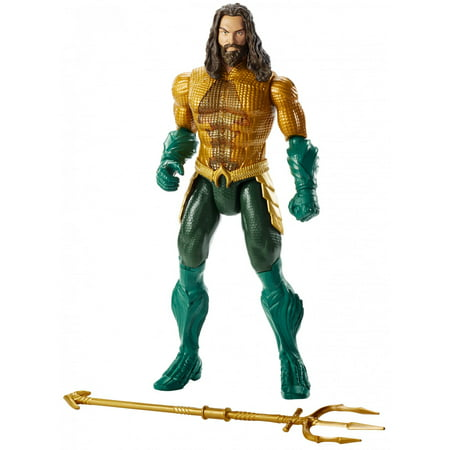 - Aquaman Movie 12-Inch Aquaman Action Figure with Lights & Sounds