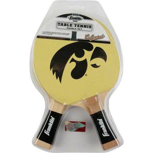 NCAA - Iowa Hawkeyes Table Tennis Paddle Set