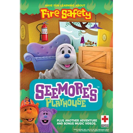 Fire Safety Open House - SeeMore's Playhouse: Fire Safety (DVD)