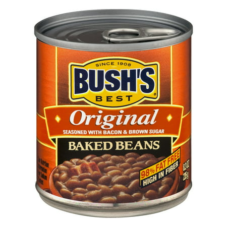Bush's Best Original Baked Beans, 8.3 Oz (Best Canned Food For Humans)