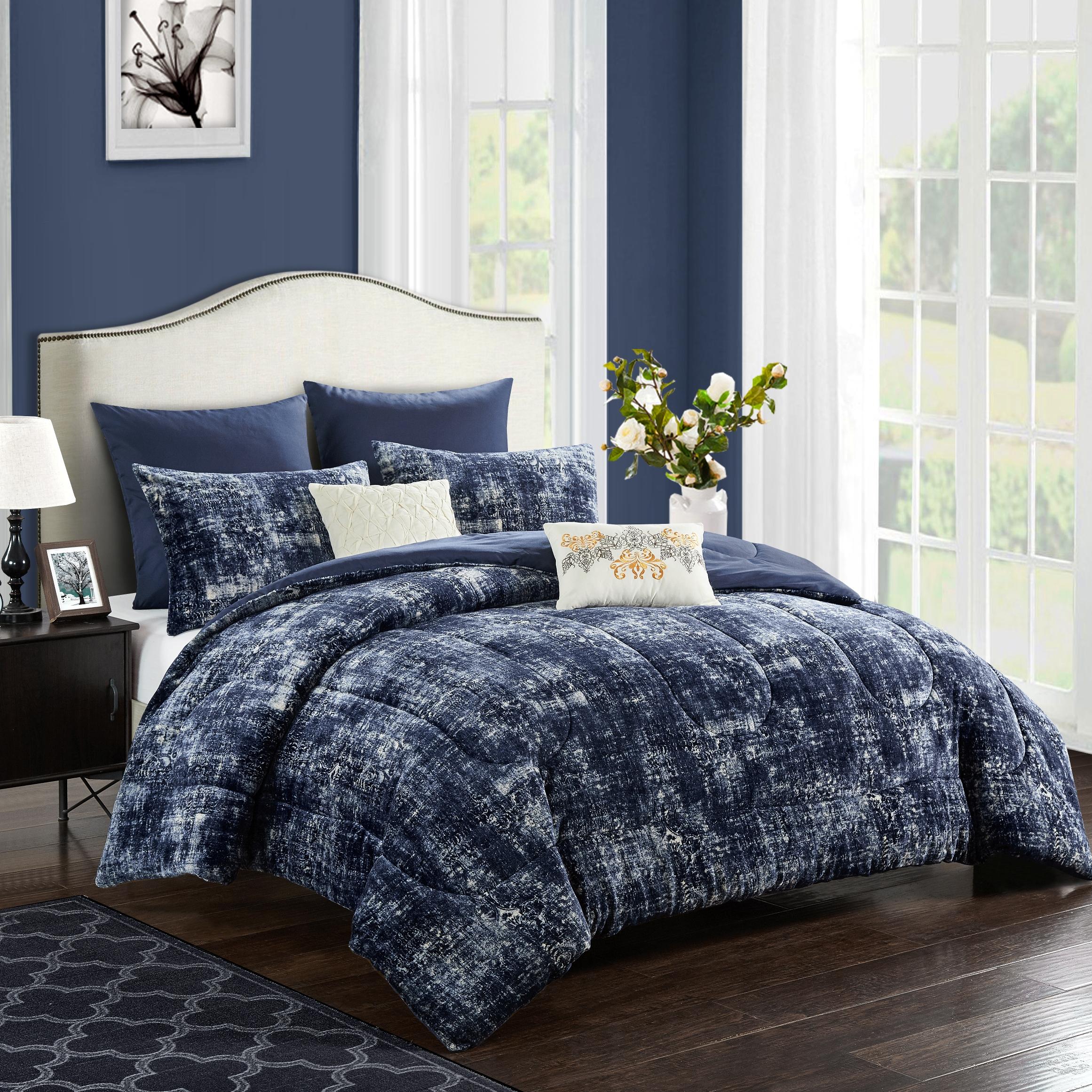 Better Homes & Gardens Delancy 7- Piece Comforter Set