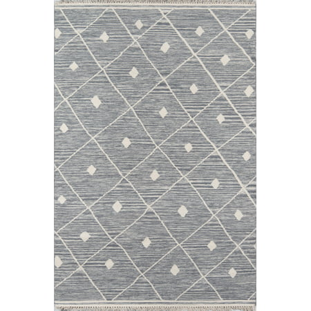 Erin Gates by Momeni Thompson Appleton Grey Hand Woven Wool Area Rug 2' X 3' ()
