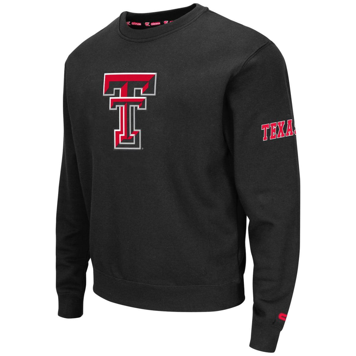 "Texas Tech Red Raiders NCAA ""Zone 2"" Men's Pullover Crew Sweatshirt"