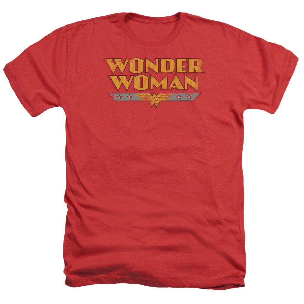 DC Comics Wonder Woman Logo Mens Heather Shirt