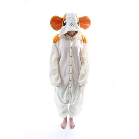 Halloween Costumes For Hamsters (BCozy Kigu Unisex Animal Costume Pajama Onsie Adult Hamster Z One Size Fits)