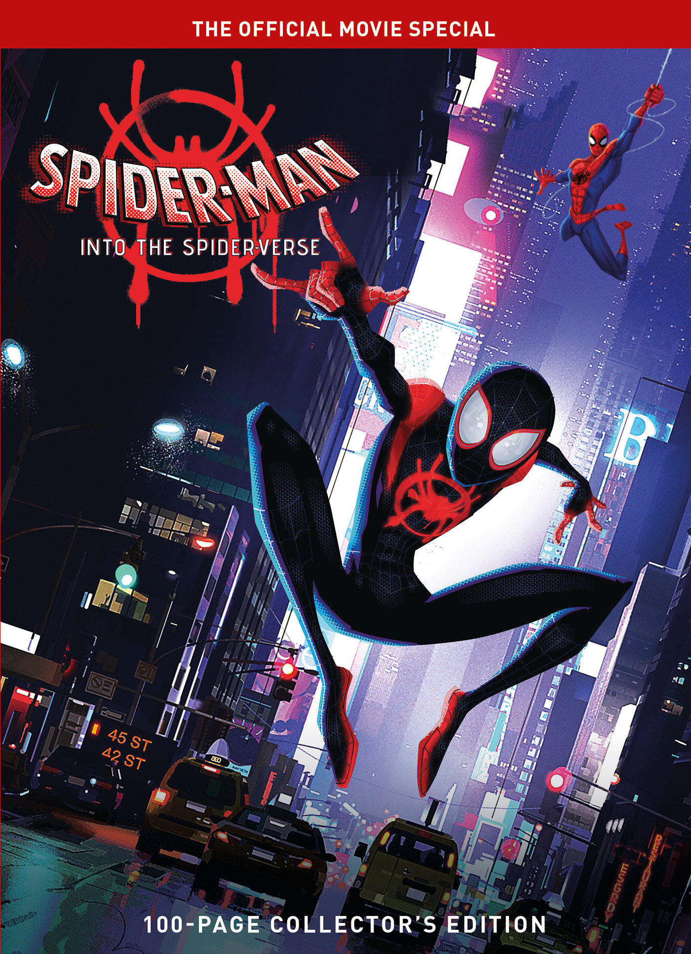 spiderman into the spiderverse the official movie