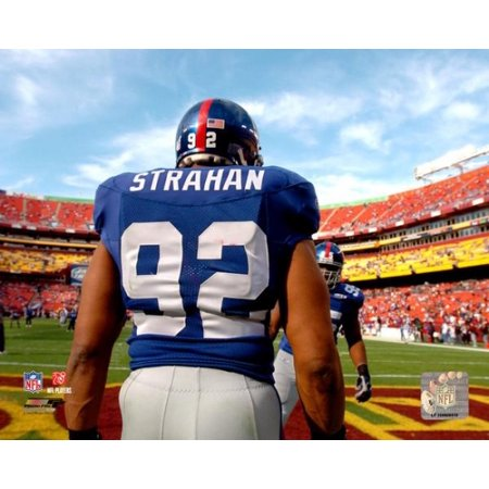 Michael Strahan 2005 Action Photo Print