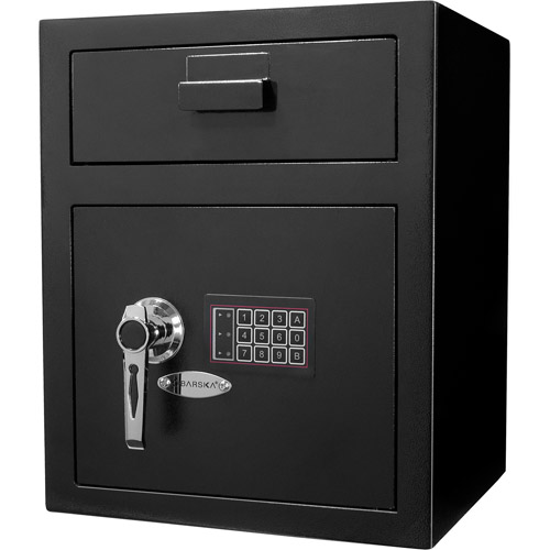 Click here to buy Barska Advanced Technology Depository Safe with Large Keypad by Barska.