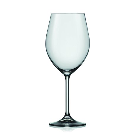 - Crystalex Harmony Bordeaux Red Wine Glasses, Classic Design, 14.1-Ounce, Set of 6