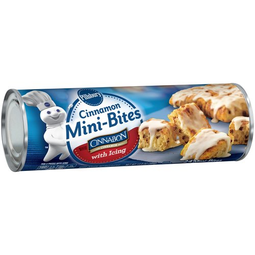 Pillsbury Cinnamon Mini-Bites with Icing 24 ct Can