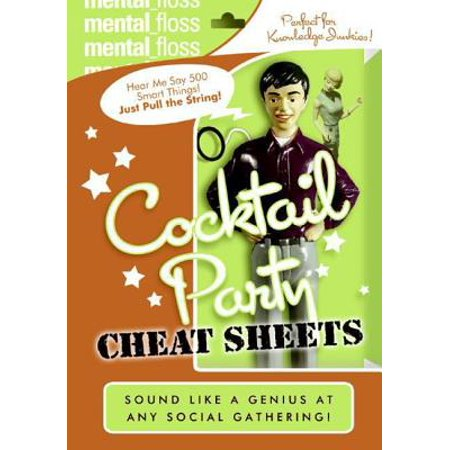 Mental Floss: Cocktail Party Cheat Sheets - eBook - Mental Floss Halloween
