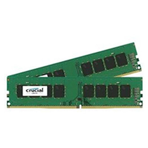 Crucial 8GB Kit (4GBx2) DDR4 PC4-17000 Unbuffered NON-ECC 1.2V
