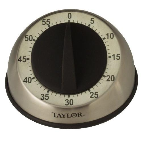 Taylor Digital TAP5830M Taylor Stainless Steel Mechanical Timer