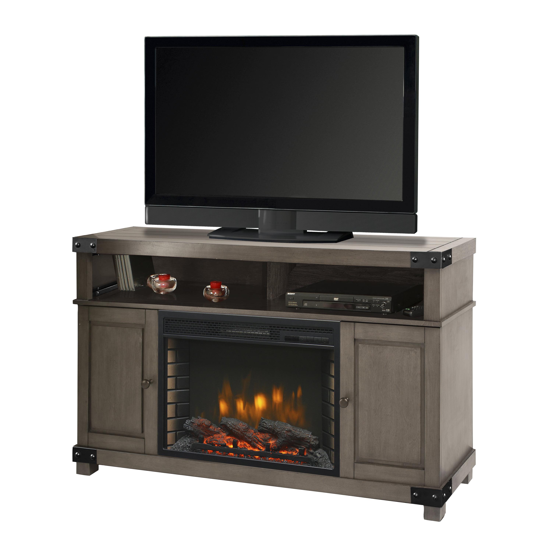 "Muskoka 370-68-205-KIT Sloan 53"" Media Fireplace-Dark Weathered Grey"
