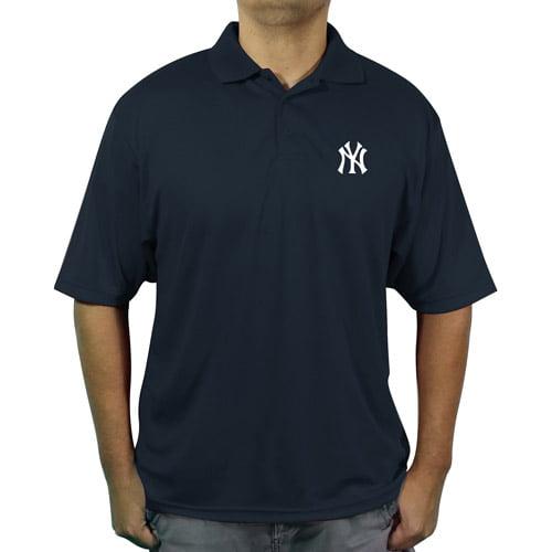 MLB NY Yankees Men's poly polo shirt