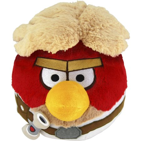 Commonwealth Toys Angry Birds Star Wars Plush Luke, 12