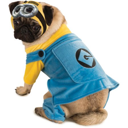Evil Minion Dog Costume (Despicable Me Dog Costume -)