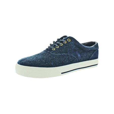 Polo Ralph Lauren Mens Vaughn Padded Insole Low Top Fashion