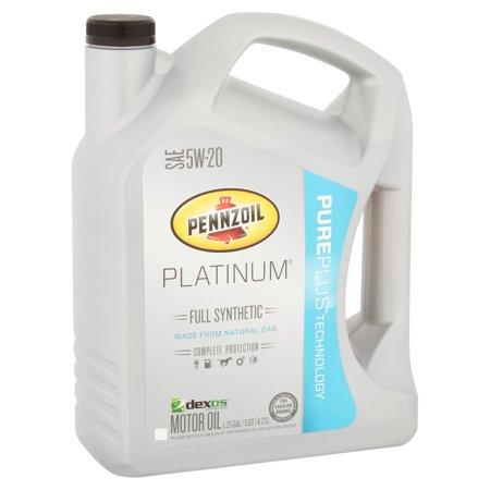 Pennzoil platinum pureplus technology sae 5w 20 motor oil for Pennzoil platinum 5w20 full synthetic motor oil