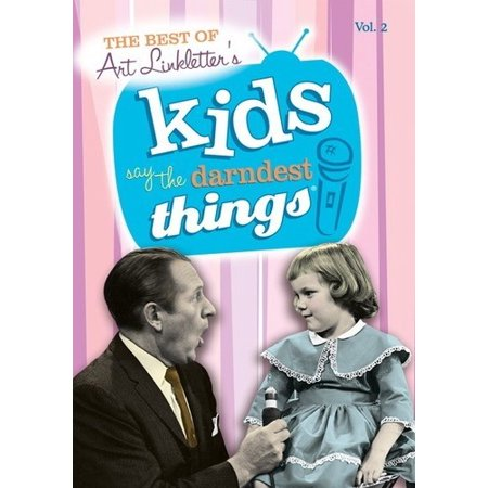 MOD-BEST OF KIDS SAY/DARNDEST THINGS VOL 2 (DVD/1952-69)NON-RETURNABLE