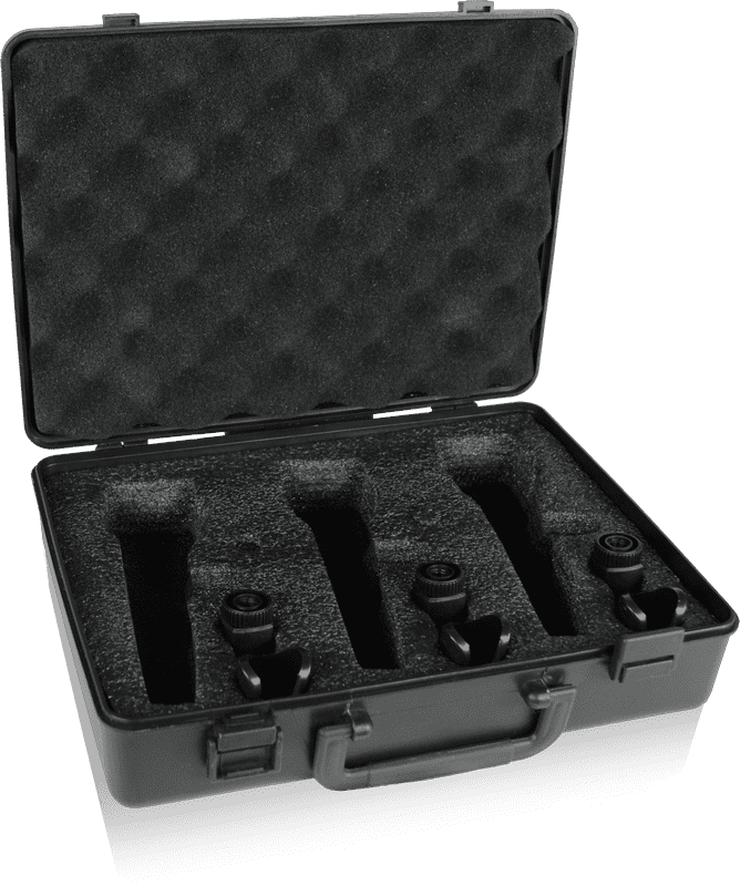 Behringer ULTRAVOICE XM1800S 3 Dynamic Cardioid Vocal and Instrument Microphones (Set of... by Behringer
