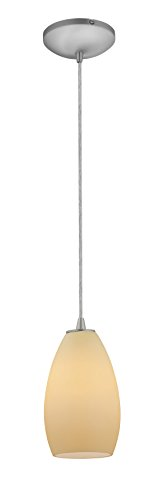 Access Lighting 28012-1C-BS CRM Sydney�Glass Pendant by Access Lighting