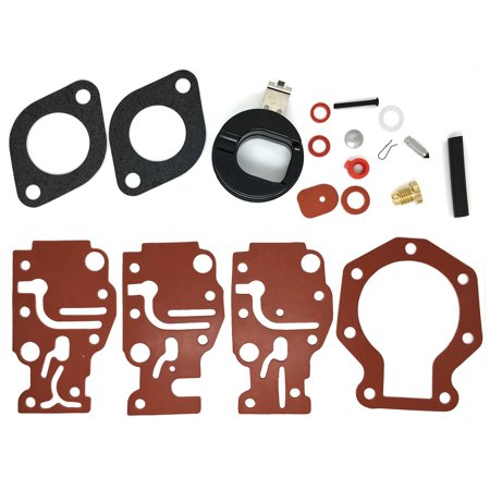 Motorcycle Carburetor Rebuild Kits (Carburetor Carb Repair Rebuild Kit For Johnson/Evinrude 6 8 9.9 15 20 HP 1986-1996 )