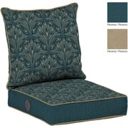 Bombay Outdoors Royal Zanzibar Reversible Deep Seat Cushion Set with Adjustable Comfort Technology