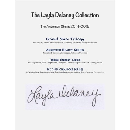 The Layla Delaney Collection: The Anderson Circle: 2014-2016 - eBook