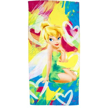 Disney Fairies Tinkerbell Beach Towel 28in.X 58in.